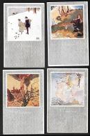 [DC12025] CPA - SERIE DI 4 CART. 4 STAGIONI ILLUSTRATE U. Q. VENEZIANI SERIE 512 - PREFETTE - Old Postcard - Illustratori & Fotografie