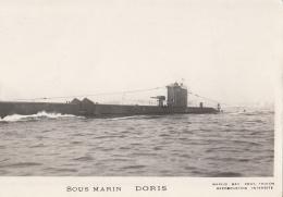 Sous Marin DORIS - Matériel