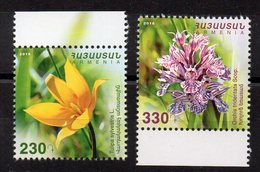 ARMENIE - ARMENIA - FLEURS - FLOWERS - ORCHID - TULIP - 2016 - - Arménie