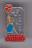 Pin's J F  BASKET CHOLET - Basketball