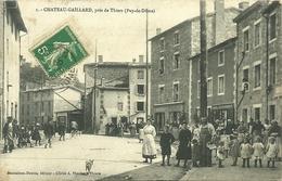 CHATEAU-GAILLARD, Près De Thiers (63) - France