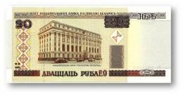 BELARUS - 20 Rublei - 2000 - P 24 - Unc. - Serie Ka ( Ka ) - National Bank - Belarus
