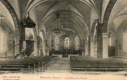 CPA - GRANGES (88) - Aspect De L'intérieur De L'Eglise En 1914 - Granges Sur Vologne