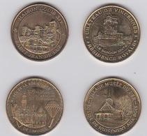 Lot De Médailles 2012-2013 Et 2014 - Monnaie De Paris