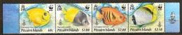Pitcairn Islands 2010 Yvertn° 735-738 *** MNH Cote 13,00 Euro Faune WWF Poissons Fish Vissen - Timbres