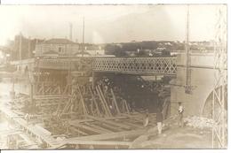 MAISON CARREE. DECONSTRUCTION DU VIEUX PONT. CARTE PHOTO - Algerije