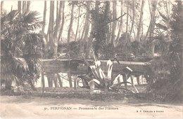 FR66 PERPIGNAN - Bf Chalon 31 - Promenade Des Platanes - Belle - Perpignan