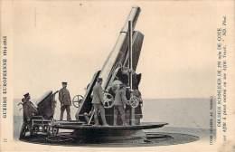 Militaria - WW1 - Guerre Européenne 1914-1915, Obusier Schneider De 293 Mm - Guerre 1914-18