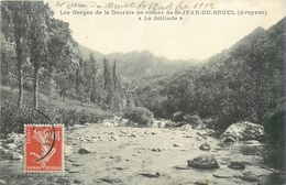 12  SAINT JEAN DE BRUEL  Les Gorges De La Dourbie En Amont La Solitude 2scans - France