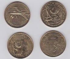 Lot De Médailles 2014 Et 2013 - Monnaie De Paris