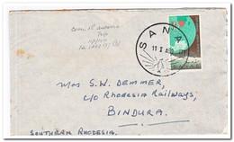 Zuid Afrika 1959, Letter To Southern Rhodesia - Brieven En Documenten
