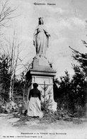 CPA - GRANGES (88) - Promenade à La Vierge De La Solitude En 1905 - Granges Sur Vologne