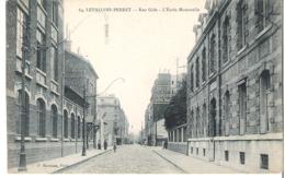 LEVALLOIS PERRET    Rue Gide    Ecole Maternelle -  Fabrique Laboratoire Docteur Evans - Levallois Perret