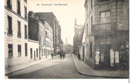 PARIS XV°  Rue Quinault Et Coin De La Rue Pourtour Du Théâtre - ATTENTION ....il Y A Une Erreur D'imprimerie Et ........ - Arrondissement: 15