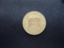 MACAO : 10 AVOS  1988   KM 20    TTB - Macao
