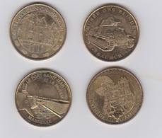 Lot De Médailles 2011 Et 2014 - Monnaie De Paris