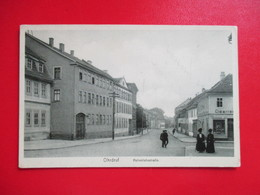 CPA ALLEMAGNE OHRDRUF HOHENLOHESTRABE ANIMEE - Allemagne