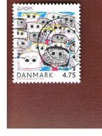 DANIMARCA (DENMARK)  - 2006 EUROPA  - USED - 2006