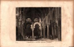 Espagne - Intérieur De La Grande Mosquée à Cordoue - Estampes & Gravures