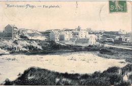 Cpa 62 AMBLETEUSE-PLAGE   Vue Générale , Carte Bleutée , 1910 - France