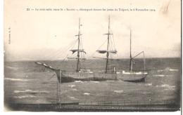 """Le Trois Mats Russe Le """"Saluto"""" LE TREPORT  8 Novembre 1904 - Segelboote"""