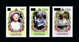 Ghana  Nº Yvert  1066/8 (sobrecarga)  En Nuevo - Ghana (1957-...)