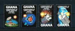 Ghana  Nº Yvert  716/19  En Nuevo - Ghana (1957-...)