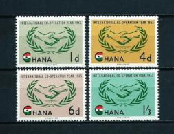 Ghana  Nº Yvert  189/92  En Nuevo - Ghana (1957-...)