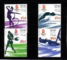 Olympics 2008 - Tennis - ISRAEL - Set MNH - Ete 2008: Pékin