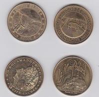 Lot De Médailles  2012 -2013- - Monnaie De Paris