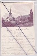 Suisse ; Concise,...L'Eglise Et La Cure. (carte Précurseur De 1901) - VD Waadt