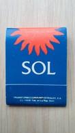 Zündholzheftchen Mit Werbung Für SOL (Spanien) - Zündholzschachteln