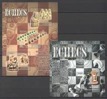 A695 2012 DE GUINEE SPORT CHESS ECHECS 1KB+1BL MNH - Schach