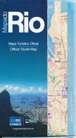 Brasilien Rio De Janeiro City-Map Stadtplan - Strassenkarten