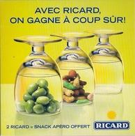 RICARD (Avec RICARD On Gagne à Coup Sûr) - Portavasos