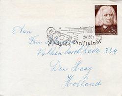 24.12.61 Christkindl-stempel Op Liszt-zegel Naar Den Haag - 1945-.... 2nd Republic