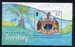 TERRITOIRE BRITANNIQUE DE L'OCEAN INDIEN - BRITISH INDIAN OCEAN TERRITORY - M/S - B/F - TORTUES - TURTLES - 2014 - - Territoire Britannique De L'Océan Indien
