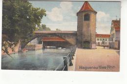 67 - Haguenau - Pont Sur La Moder - Tour Des Pecheurs 01 - Haguenau