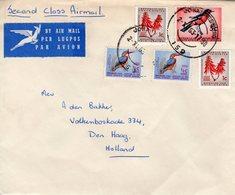 2 XI 63 Luchtpostbrief Johannesburg -Den Haag - Zuid-Afrika (1961-...)