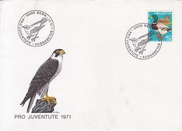 PRO JUVENTUTE 1971. 3000 BERN. AUSGABETAG. SPECIAL COVER. SWISS.-BLEUP - Pro Juventute