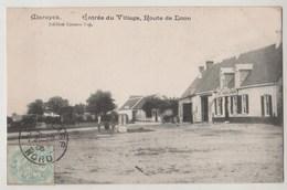 CPA 59 MARDICK Entrée Du Village Route De Loon - Other Municipalities