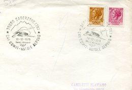 34353 Italia, Special Postmark 1976 Caderzone Trento Natale Alpini - Militaria