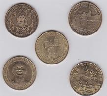 Médailles 2012-2013-2014- 2015 - Monnaie De Paris