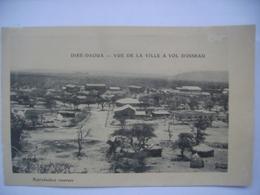 Djibouti Dire Daoua Vue De La Ville A Vol D'oiseau - Djibouti