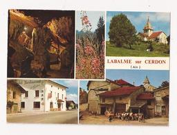 ( 01 ) LABALME SUR CERDON Hotel Restaurant G CARRIER Ferme Eglise Grottes - France