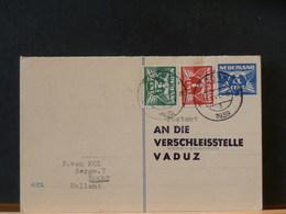 77/469  BRIEFKAART NAAR VADUZ  1939 MET BIJFRANKERING - Brieven En Documenten