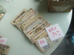 Environ 140 Billets Divers - Banknotes