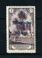 Marruecos Nº  Telegrafos-38  Con Charnela - Marruecos Español