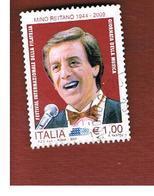 ITALIA REPUBBLICA  -   2009  MINO REITANO           -   USATO  ° - 6. 1946-.. Repubblica