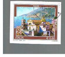 ITALIA REPUBBLICA  -   2012 -  TURISTICA: MAIORI                 -   USATO  ° - 6. 1946-.. Repubblica